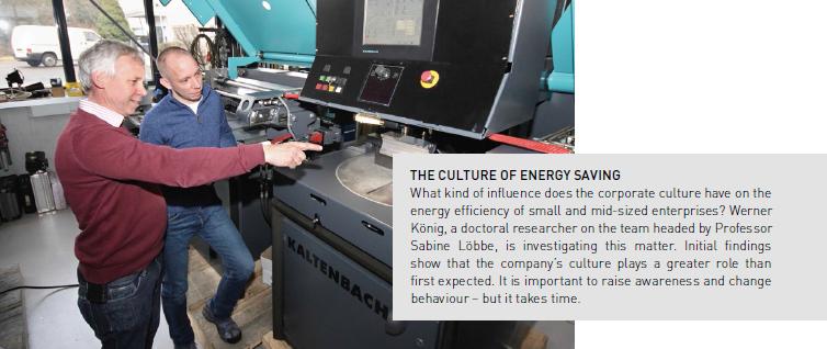 Kultur gegen die Energieverschwendung